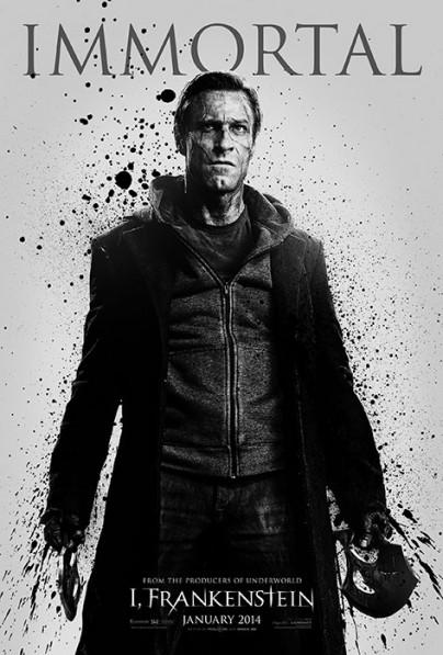 """Filmplakat von """"I, Frankenstein"""""""