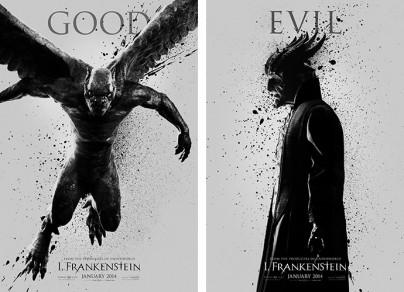 """Filmplakate von """"I, Frankenstein"""""""