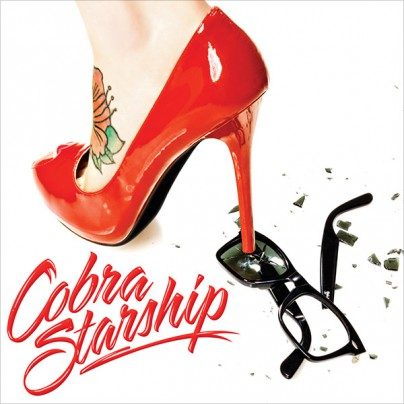 "CD-Cover ""Night Shades"" von Cobra Starship"
