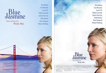 """Filmplakate zu """"Blue Jasmine"""""""