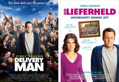 """Filmplakate zu """"Der Lieferheld"""""""