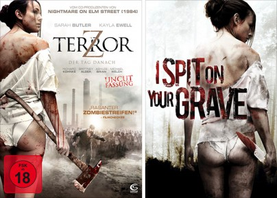 """Terror Z"" vs. ""I Spit on Your Grave"""