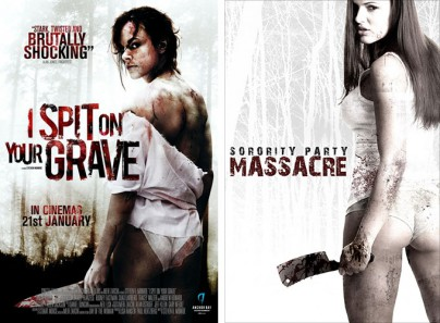 """I Spit on Your Grave"" und ""Sorority Party Massacre"""