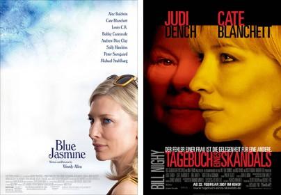 """""""Blue Jasmine"""" und """"Tagebuch eines Skandals"""""""