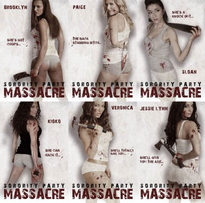 "Filmplakate zu ""Sorority Party Massacre"""