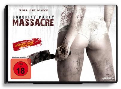 """DVD-Cover zu """"Sorority Party Massacre"""""""