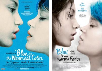 Blau ist eine warme Farbe