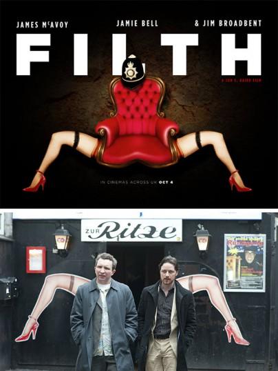 """Gewinner des """"Filth""""-Plakatwettbewerbs"""