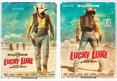 """Filmplakate zu """"Lucky Luke"""""""