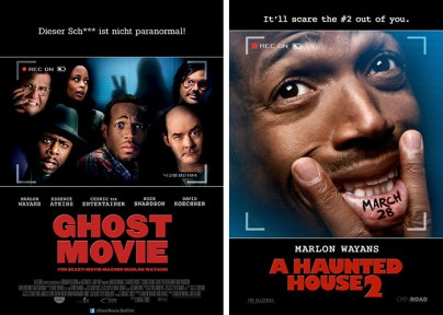 "Filmplakate zu ""Ghost Movie"" und ""A Haunted House 2"""