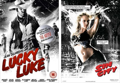 """Lucky Luke"" und ""SIn City"""