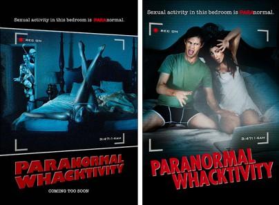 "Filmplakate zu ""Paranormal Whacktivity"""