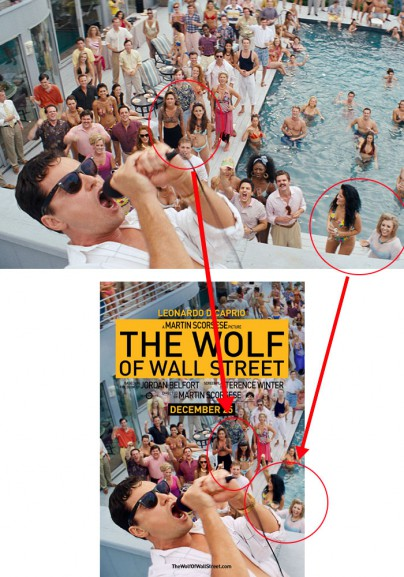 "Filmplakat zu ""The Wolf of Wall Street"""