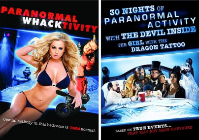 """Paranormal Whacktivity"" und ""30 Nights of Paranormal Activity with the Devil Inside"""