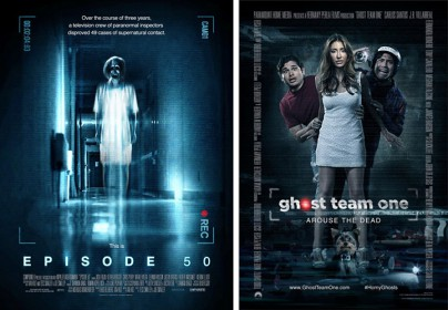 "Filmplakate zu ""Episode 50"" und ""Ghost Team One"""