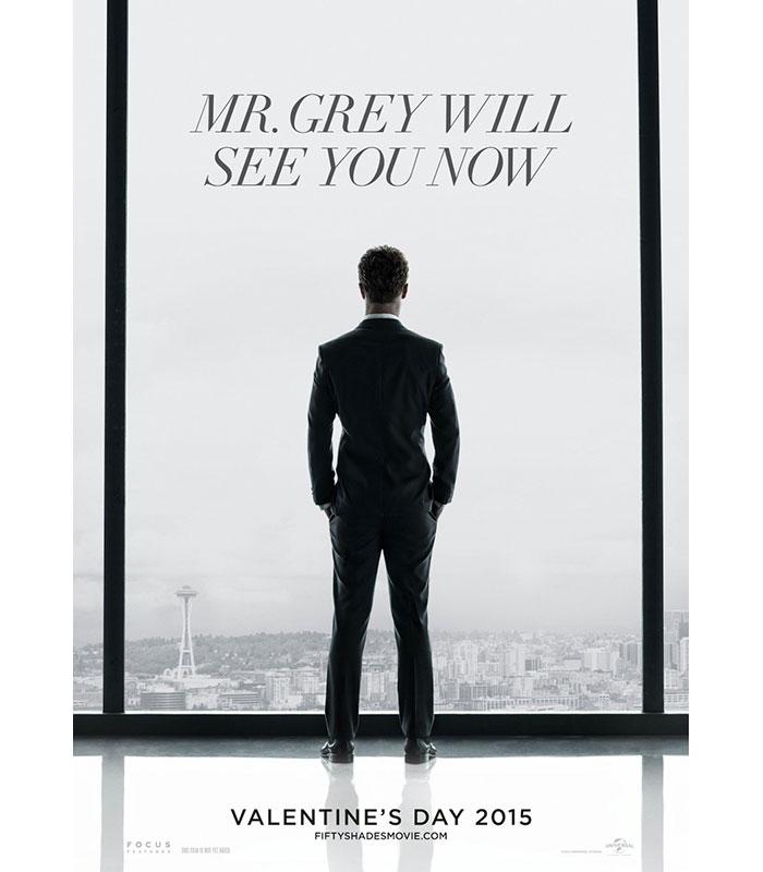 Hinter Dem Rücken Von Mr Grey Der Plakateur