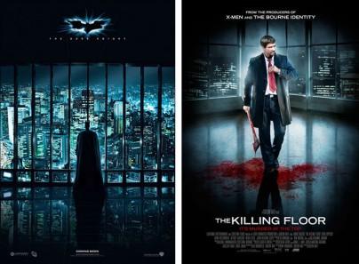"""The Dark Knight"" und ""The Killing Floor"""