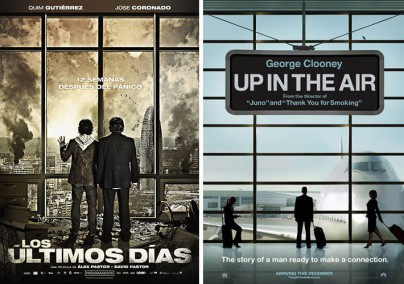 """Los últimos días"" und ""Up in the Air"""