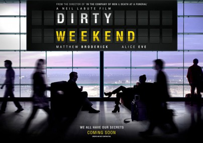 "Filmplakat zu ""Dirty Weekend"""