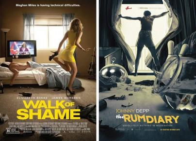 """""""Walk of Shame"""" und """"Rum Diary"""""""