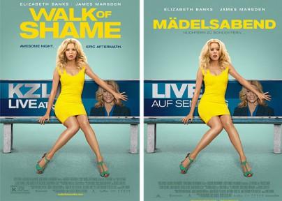 "Filmplakate zu ""Walk of Shame"""