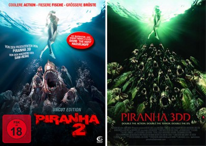 "Filmplakate zu ""Piranha 2"""