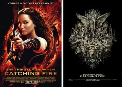 """Filmplakate zu """"Die Tribute von Panem - Catching Fire"""""""