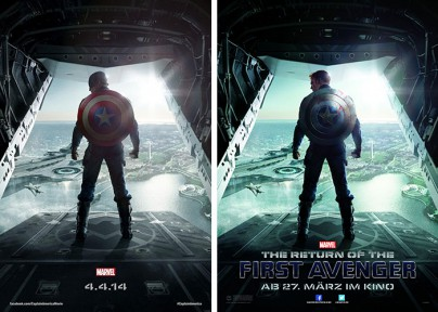 "Teaserplakat zu ""The Return of the First Avenger"""