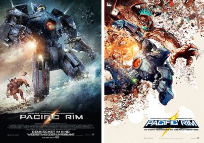 """Filmplakate zu """"Pacific Rim"""""""