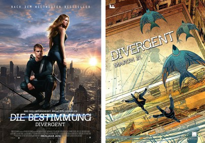 """Filmplakate zu """"Divergent"""""""
