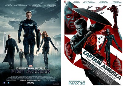 "Filmplakate zu ""The Return of the First Avenger"""