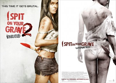 "Filmplakate zu ""I Spit on Your Grave"" 1 und 2"