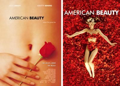 "Filmplakate zu ""American Beauty"""