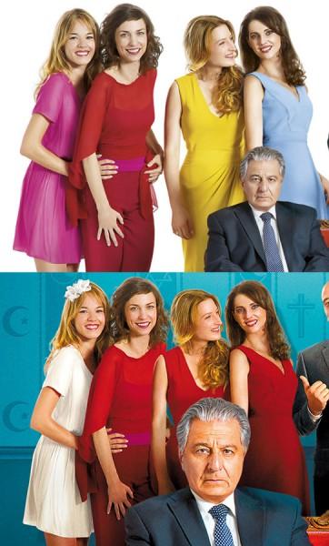 Die vier Frauen im Vergleich