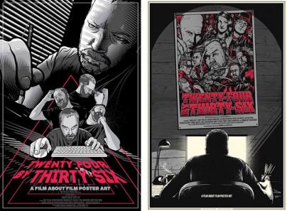 """Filmplakate zu """"Twenty-Four by Thirty-Six"""""""