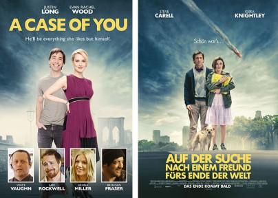"""""""A Case of You"""" und """"Auf der Suche nach einem Freund fürs Ende der Welt"""""""