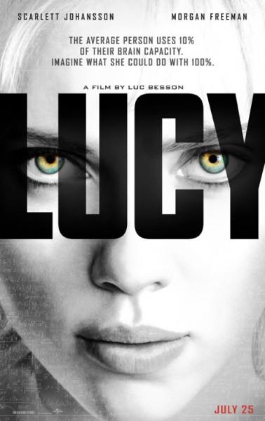 """US-Filmplakat zu """"Lucy"""""""
