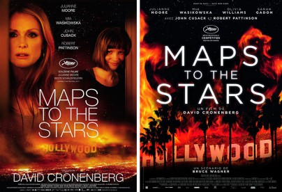 "Filmplakate zu ""Maps to the Stars"""