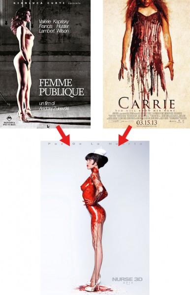 """Das Plakat von """"Nurse"""""""