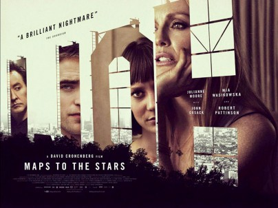 "Filmplakat zu ""Maps to the Stars"""