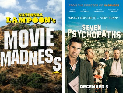 """National Lampoon's Movie Madness"" und ""7 Psychos"""