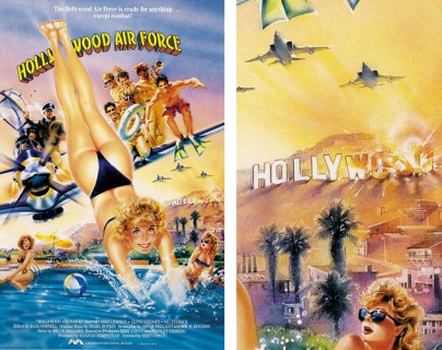 "Filmplakat zu ""Hollywood Air Force"""