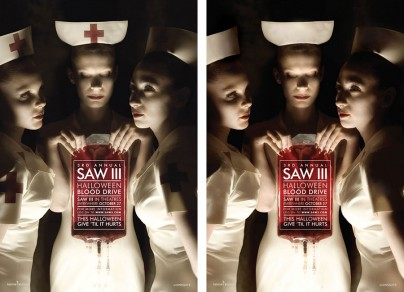 Saw III Blood Drive