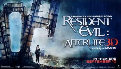 """Filmplakat zu """"Resident Evil: Afterlife"""""""