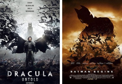 """Dracula Untold"" vs. ""Batman Begins"""