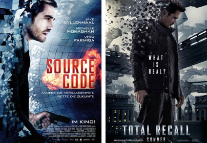 """Source Code"" und ""Total Recall"""