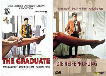 """Filmplakate zu """"Die Reifeprüfung"""""""