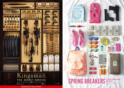 """Kingsman: The Secret Service"" und ""Spring Breakers"""