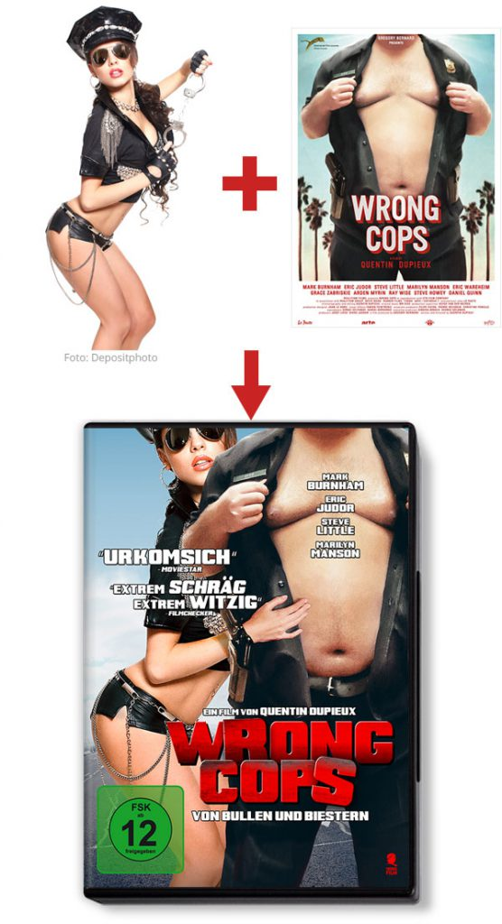 """Die deutsche DVD zu """"Wrong Cops"""""""