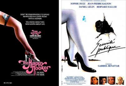 """The Happy Hooker"" und ""Sécurité publique"""